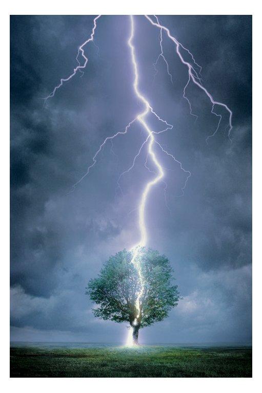 Lightning Strikes And Thunderclaps