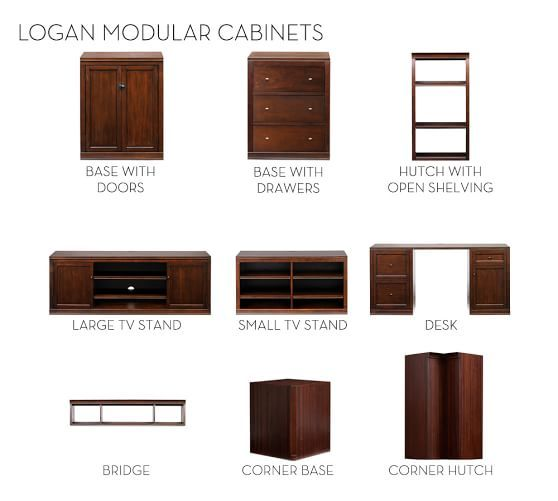 Pottery Barn Logan Cabinets