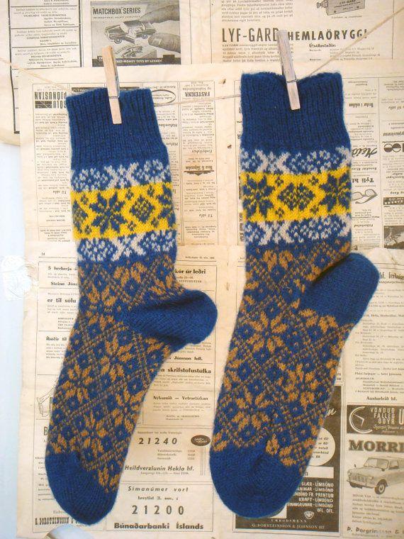 Unusual And Comfy Wool Socks. Mixed wool 50 percent sheep wool and ...