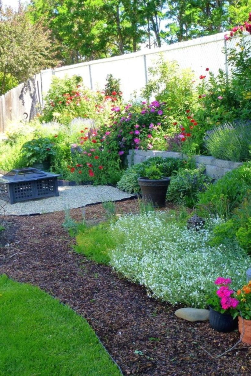 46 Simple Landscape Design Ideas For Beautiful Gardens Backyard Landscaping Designs Garden Landscape Design Front Yard Landscaping Design