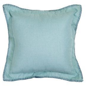 Outdoor Pillow - Aqua Linen - Threshold™