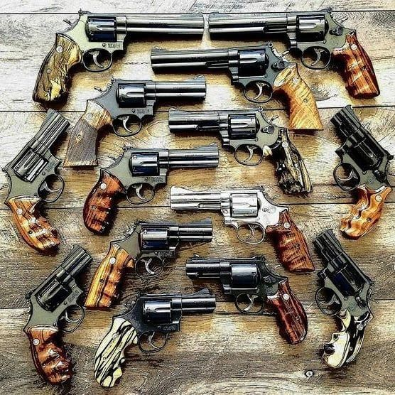 Hands down my favorite handguns
