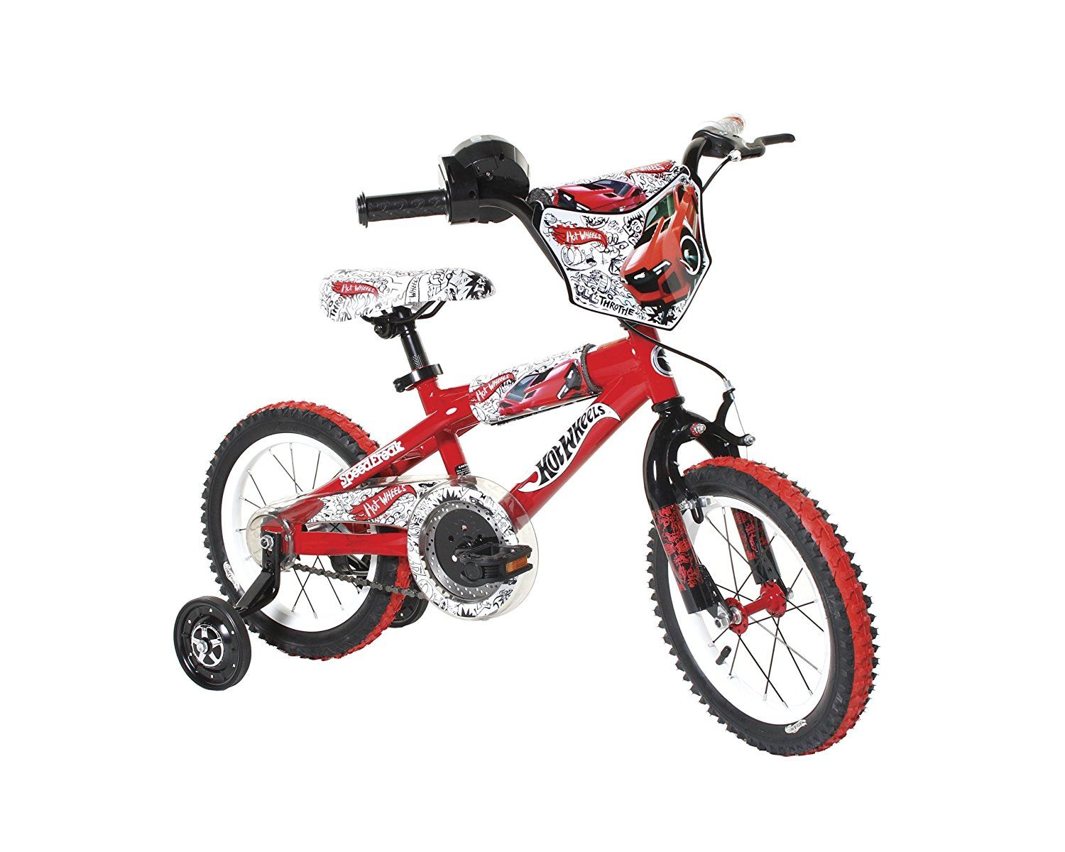14 Inch Dynacraft Hot Wheels Bike Red White Black Snagadiscount Best Kids Bike Kids Bike Bmx Bikes
