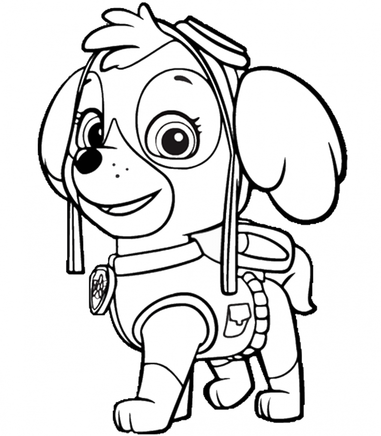 Paw Patrol Coloring Pages Best Coloring Pages For Kids Paw Patrol Coloring Pages Paw Patrol Coloring Skye Paw Patrol