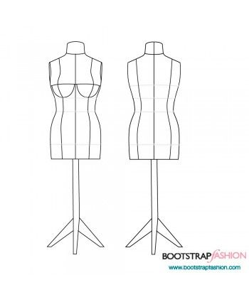 Exclusive! Missy Fit DIY Dress Form. Custom-Fit Sewing