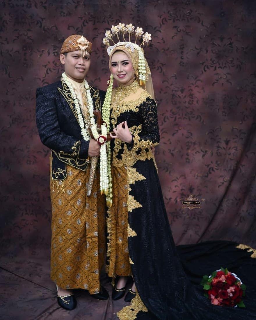 Pengantin Jawa Solo Putri Muslim tanpa Paes  Pernikahan, Kartu