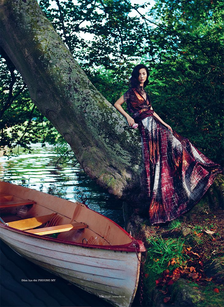ASIAN MODELS BLOG: EDITORIAL: Jay Shin, Jin Chen Hong & Yue Han in Elle Vietnam, January 2013