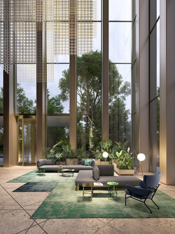 Beautiful Scandinavian Interiors For Your Home Lobby Design Modern Hotel Lobby Hotel Interior Design