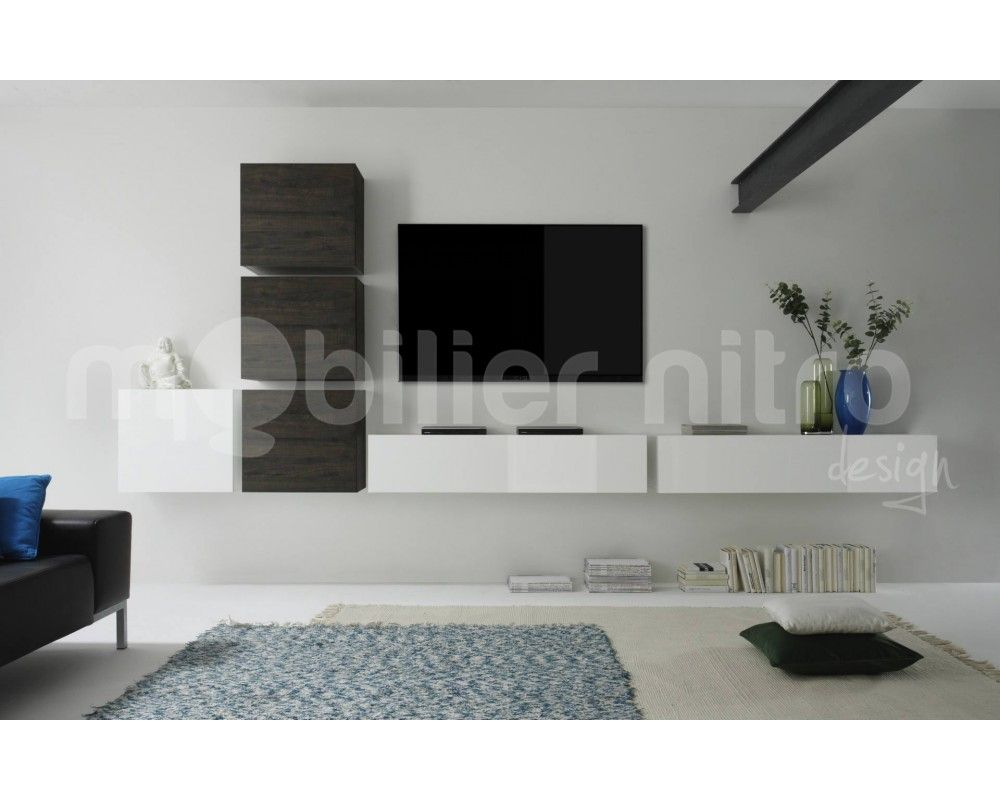 Http Mobiliernitro Com 20801 Thickbox_atch Etageres Design  # Colonne Meuble Tv