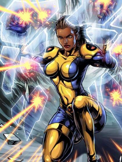 The Most Beautiful Women From X Men Black Comics Comics Girls Superhero