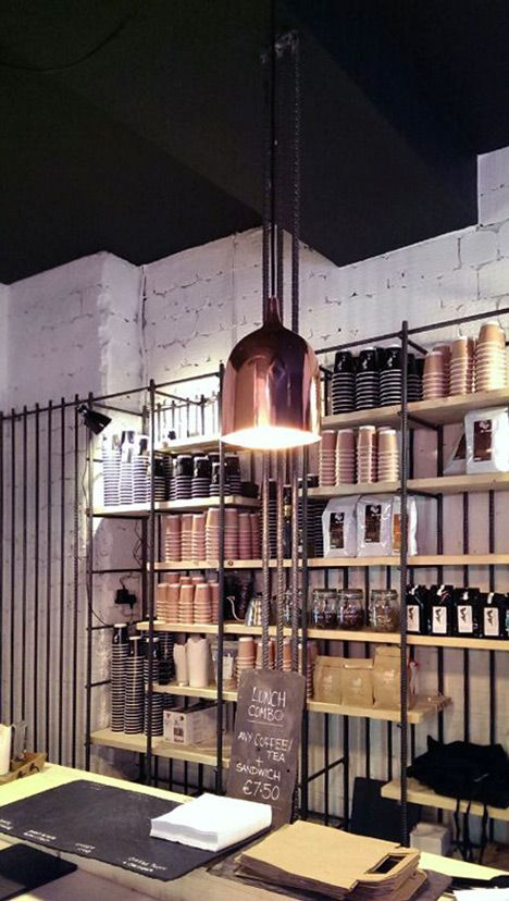 Bear Market Coffee by VAV architects http://www.feeldesain.com/steel-reinforcing-bars-bear-market-coffee.html
