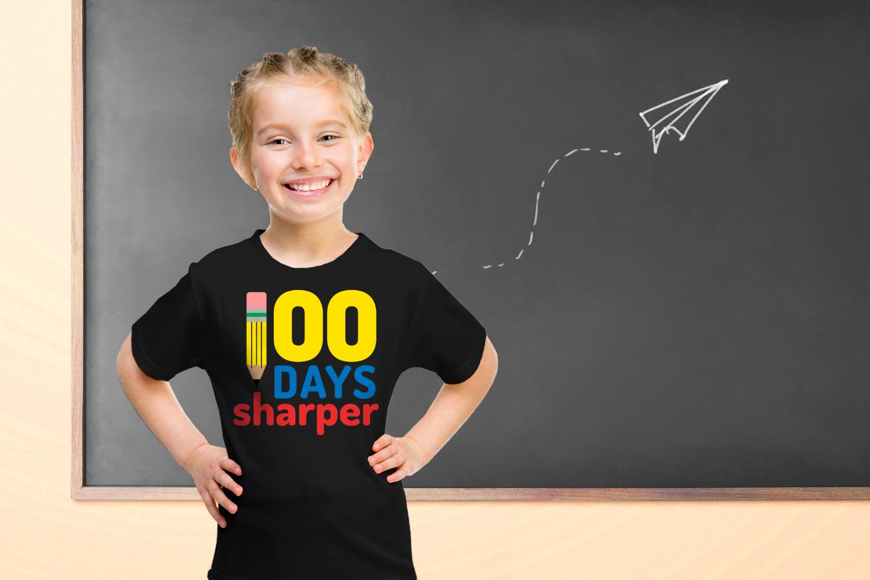 School 100 Days Sharper Pencil