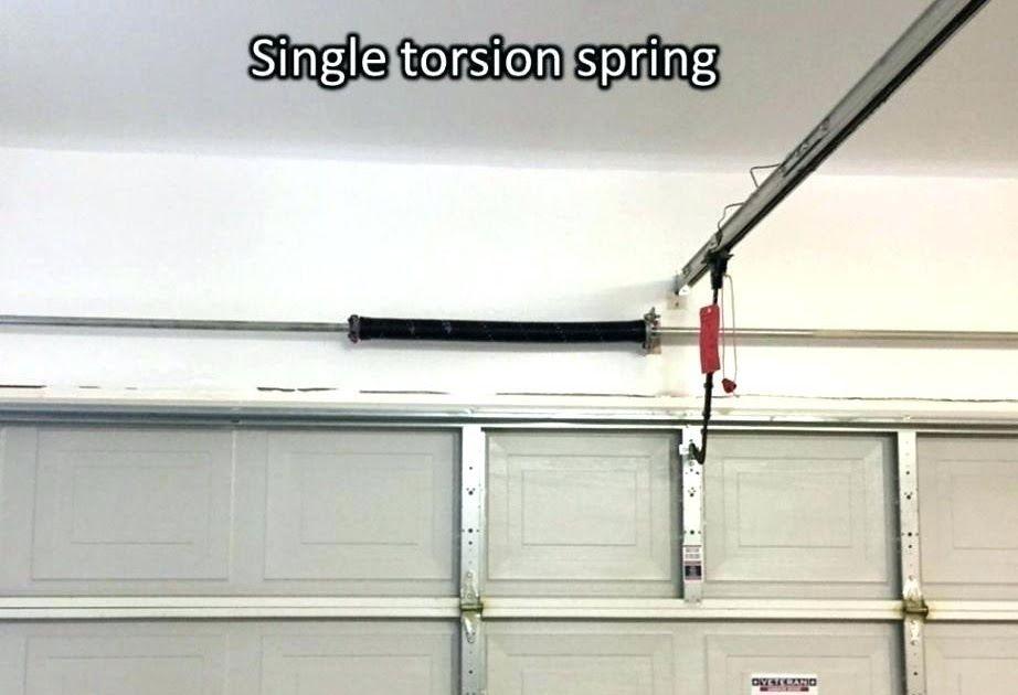 Best Representation Descriptions Garage Door Torsion Springs