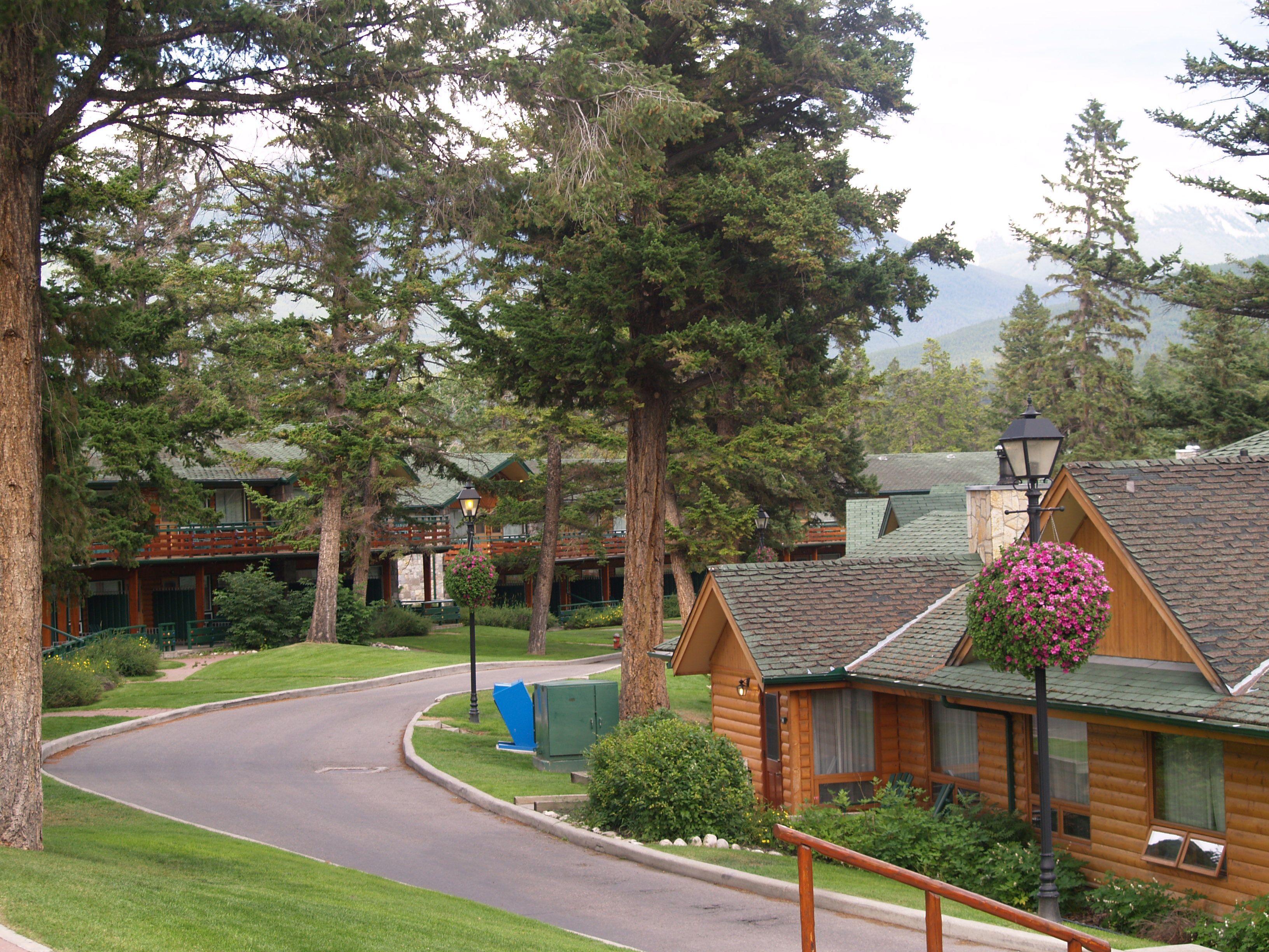 The Fairmont Jasper Park Lodge on Jasper, Alberta, Canada is such a ...