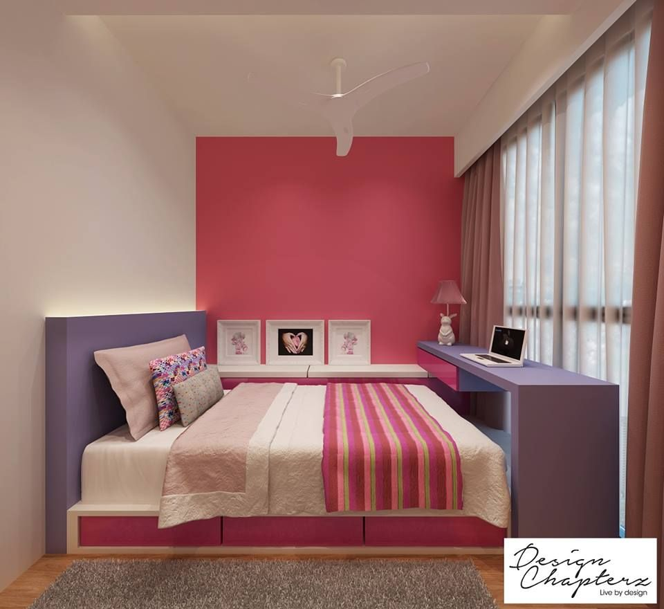 Platform bed bedroom singapore google search rooms for Small master bedroom design singapore
