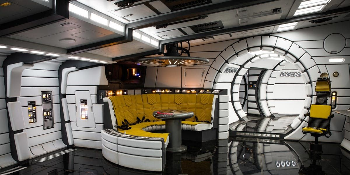 Solo Production Designer Reveals A Huge Millennium Falcon Design Secret Star Wars Room Star Wars Furniture Star Wars Decor