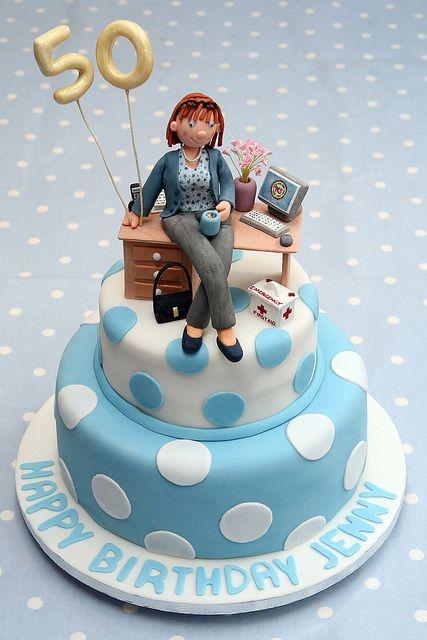 Jenny01 Cake Retirement cakes and Fondant cakes