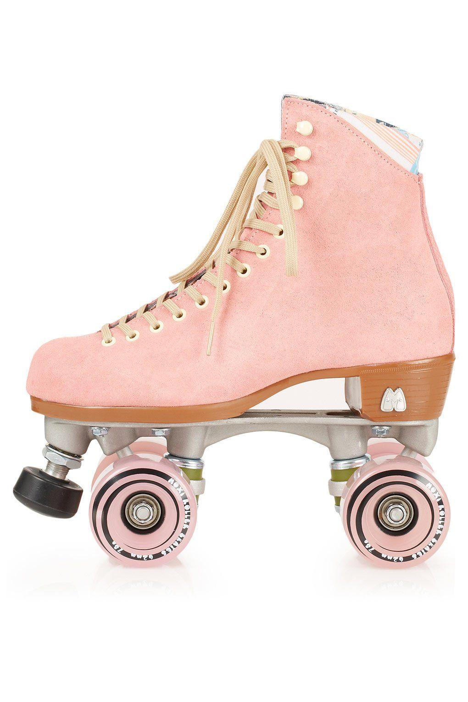 Los quiero | Pink roller skates, Pink