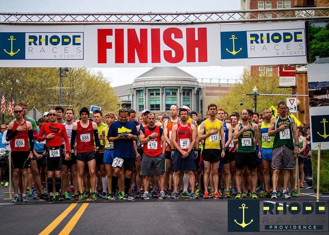 Race day is in ONE WEEK!  Join us on Sunday May 7th for the 10th running of the Providence Rhode Race.  On line registration closes on Wednesday May 3rd at 6pm.  Sign up today - www.RunRI.us