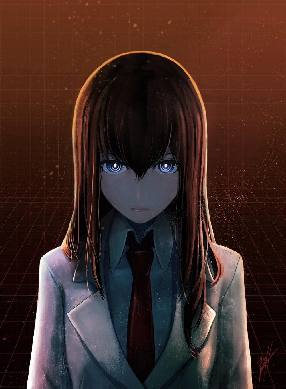 anime anime girls Steins;Gate Makise Kurisu face eyes