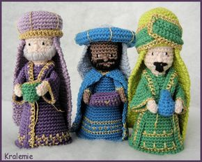 Free Amigurumi Nativity Pattern : Pin by ivette rosemarie rochabrun on amigurumi