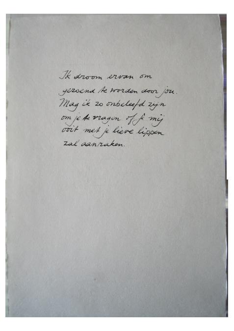 liefdesbrieven