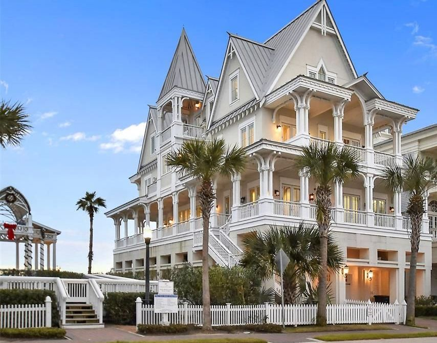 gorgeous gingerbread victorian style beach house  stunning details in every nook and corner
