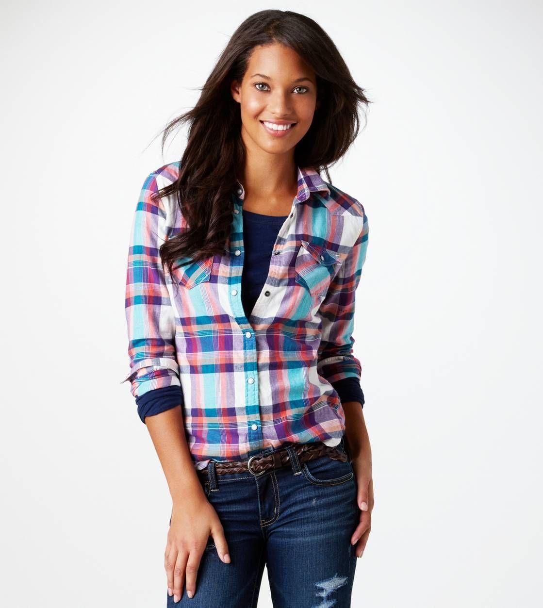 Flannel shirt cake  AE Plaid Flannel Western Shirt  My Style  Pinterest  Western