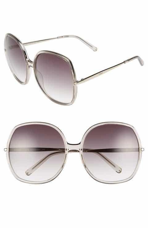 Gafas mm extragrandes lente cuadradas 62 sol de de Chloé de SAq1Spn