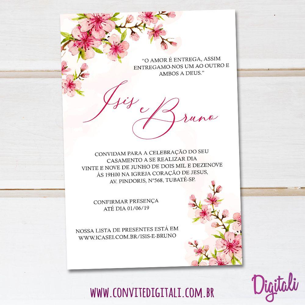Pin em Convite Casamento e/ou Noivado