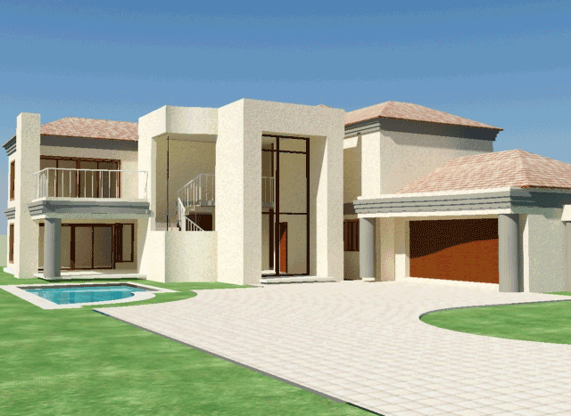 4 Bedroom House Plans House Plans South Africa My House Plans Bedroom House Plans