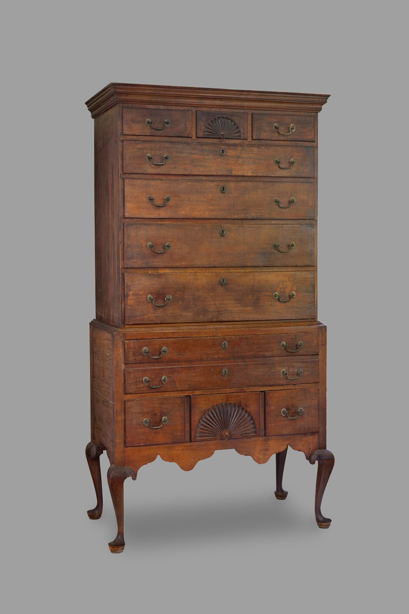 The Wason Family High Chest – Chester, New Hampshire C. 1780 | Gary Yeaton.  Primitive FurnitureAntique ... - The Wason Family High Chest – Chester, New Hampshire C. 1780 Gary
