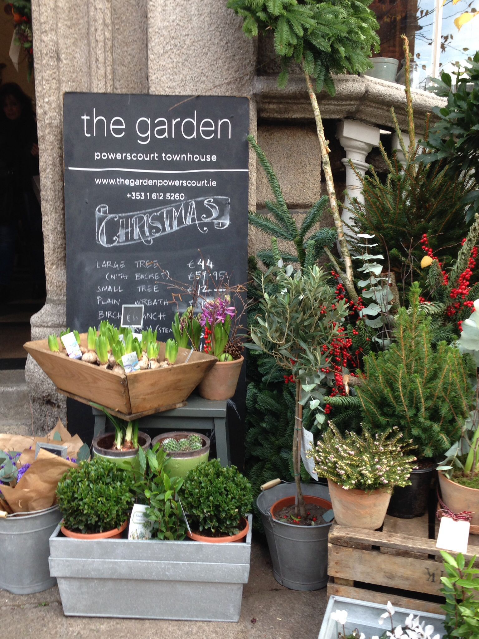 The Garden, Powerscourt, Dublin. Great flower shop