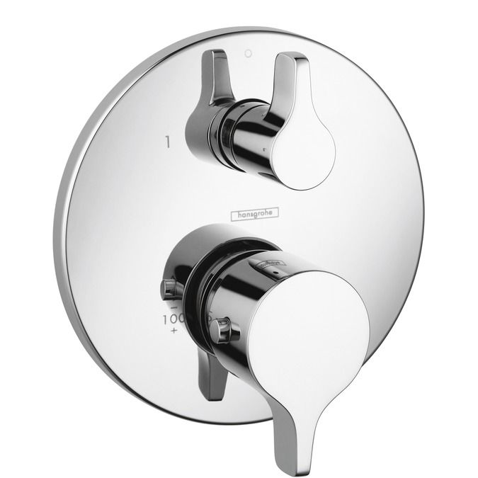 Ecostat Shower faucets twohandle, 1 consumer, Chrome