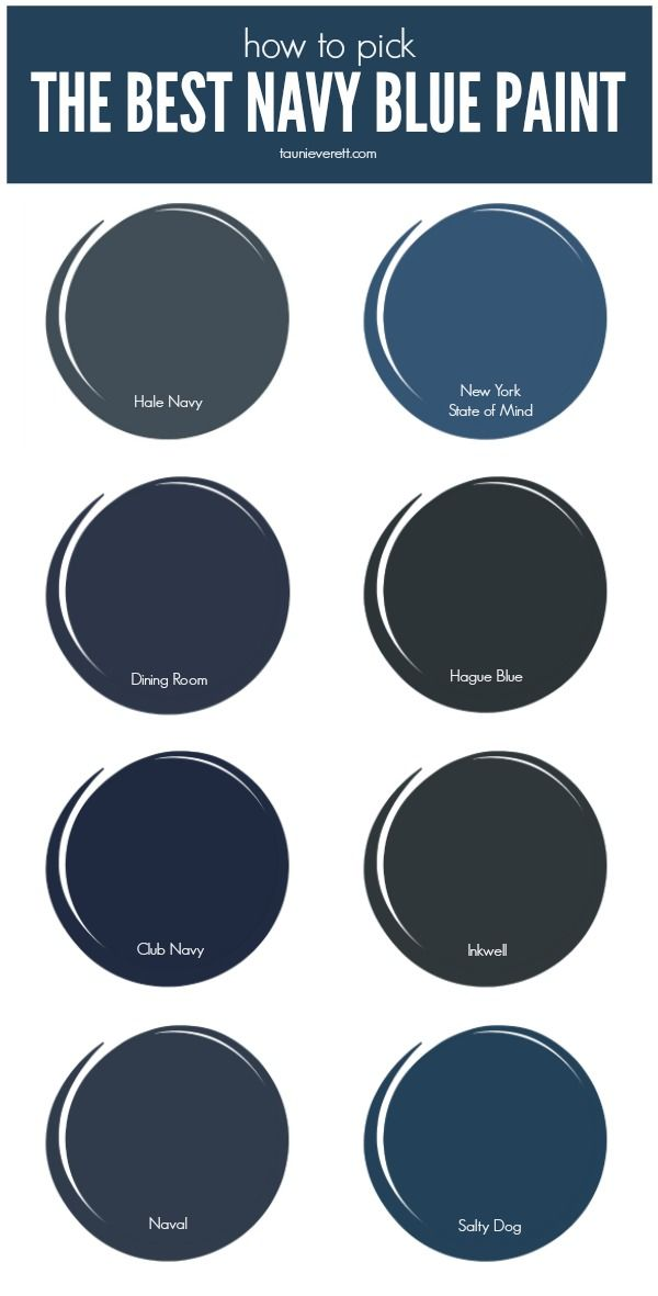 The Best Navy Blue Paint For Your Home Tauni Co Blue Bedroom Walls Navy Blue Bedrooms Navy Blue Paint