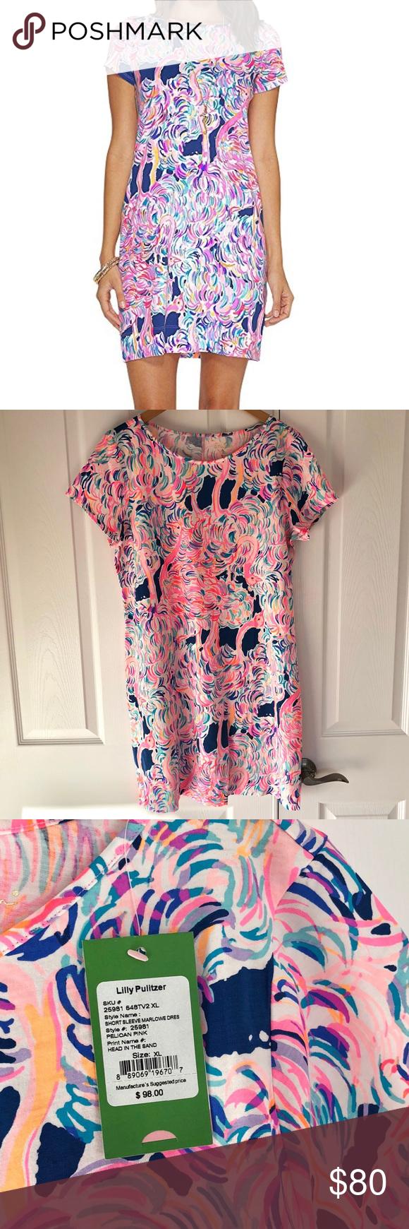 Lilly Pulitzer Short Sleeve Marlow Dress Nwt In 2018 My Posh Picks