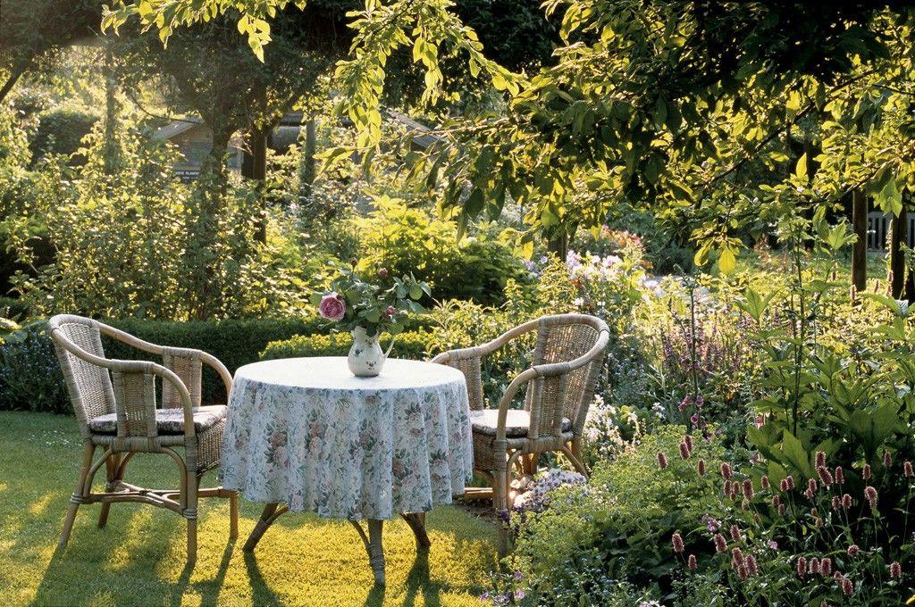 Romantische Gärten Squirrel - romantische garten gestalten