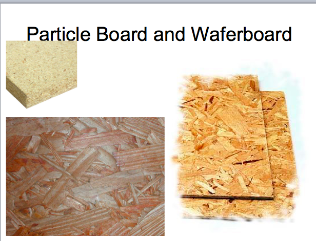 Sheet Lumber Consisting Of Wood Chips Or Sawdust Glued Together Under Heat And Pressure To Form 4x8 Foot Panels In Various Thic Wood Particle Board Wood Lumber