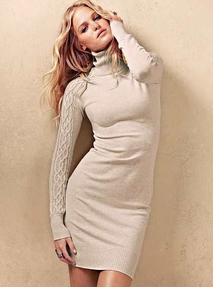 ac6938255 Knit Turtleneck Dress Victoria's Secret #fall #myfalledit #autumn #VS