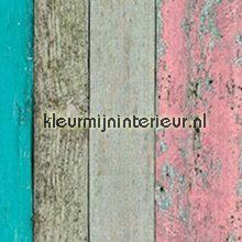 Ruw hout vrolijk gekleurd plakfolie 12-3410 motieven Patifix
