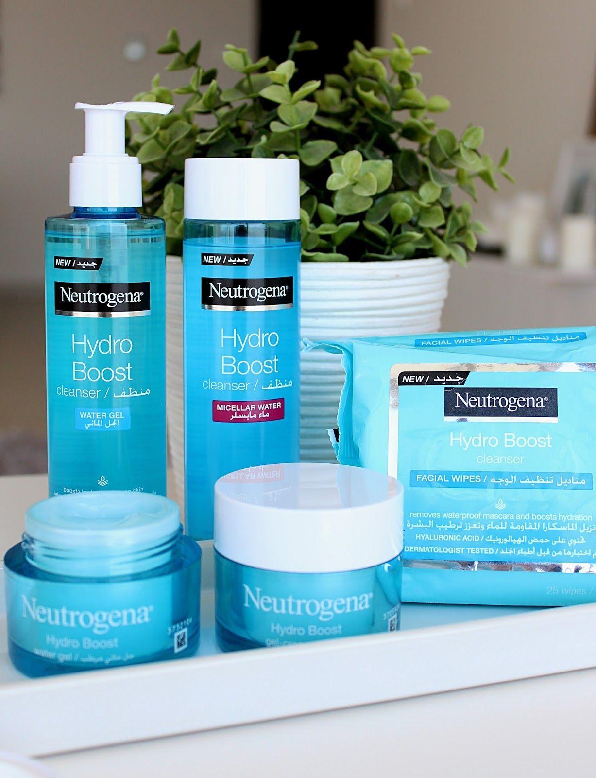 Neutrogena Hydro Boost Skincare Range Review Skin