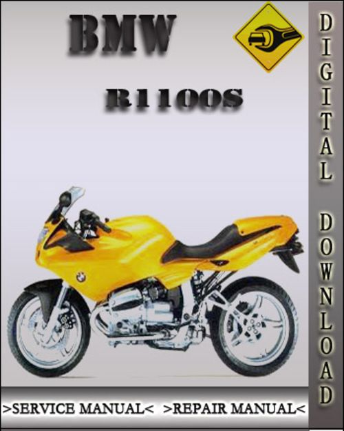 Oem Service Manual For 1999 Bmw R1100s