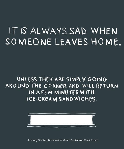 sad quotes about leaving home