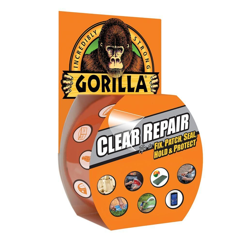 Gorilla 1 88 in  x 9 yds  Crystal Clear Tape-60270 | Bought
