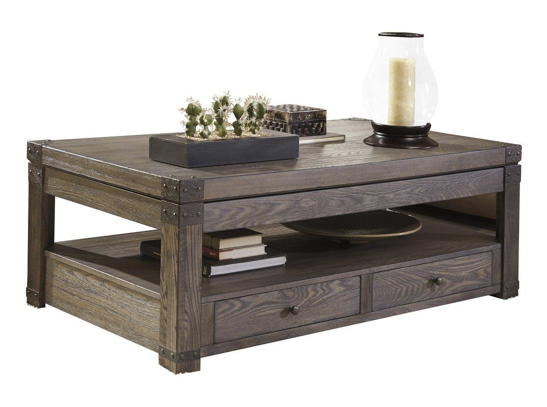 coffee table with drawers. Kieran Coffee Table With Drawers T