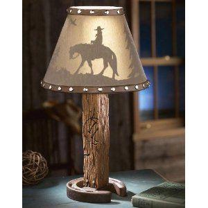 Western Silhouette Lamp