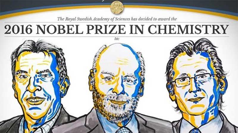 Nobel da Química para os criadores das mais pequenas máquinas moleculares   Portal Elvasnews