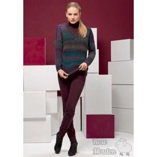 Modèle pullover 14 catalogue 211Lang Yarns