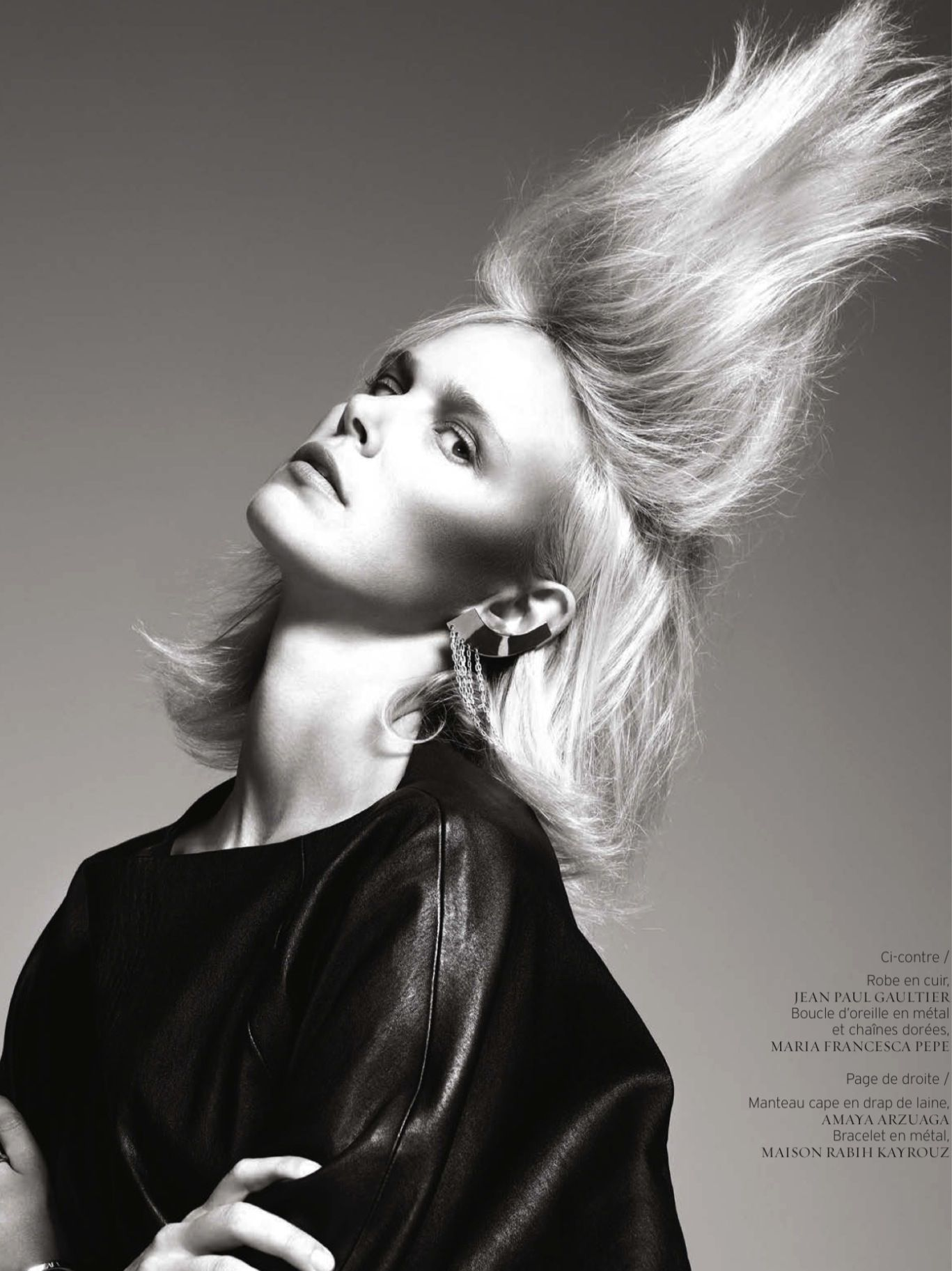 Dewi Driegen by Ishi for French Revue De Modes Fall Winter 2013-2014