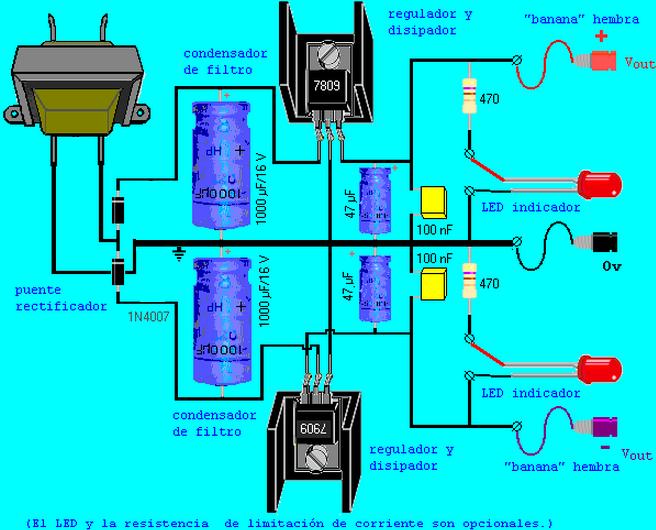Circuito Regulador De Voltaje : Reguladores de voltaje diseño http quidel ele ufro